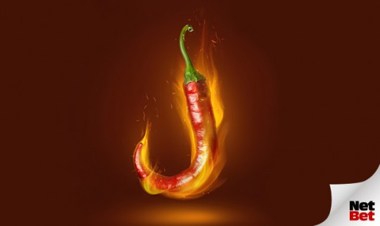 Heiße Tage stehen bevor mit dem Spiel der Woche: Chilli Heat