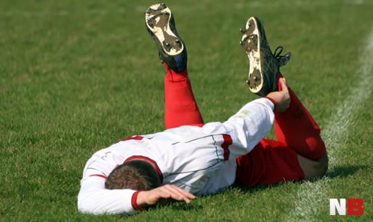 Die schrägsten Verletzungen im Fußball