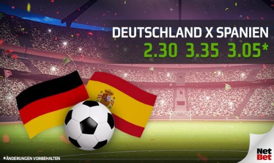 Deutschland gegen Spanien: Vorhersagen, Quoten und Matchvorschau