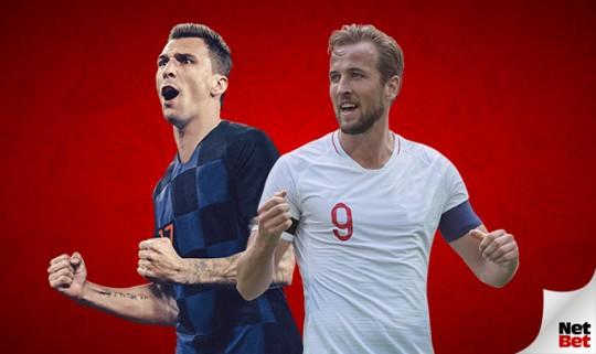 Kroatien gegen England am 11. Juli 2018, HF. Vorhersagen, Quoten und Matchvorschau