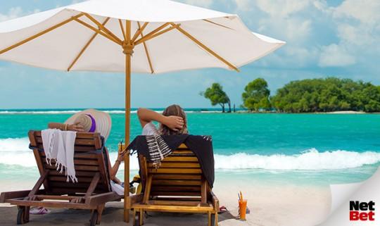 Sonne Strand und Palmen: Die Bali-Mission auf NetBet