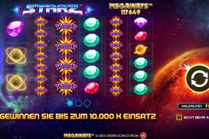 Spiel der Woche: Starz Megaways von Pragmatic Play