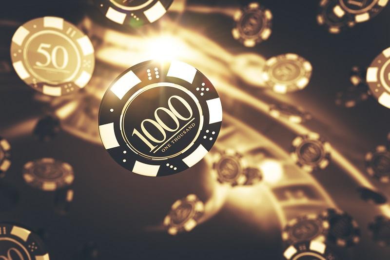 Casino poker chips