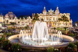 casino. fountain, monaco