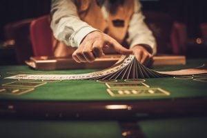 casino, cards, dealer