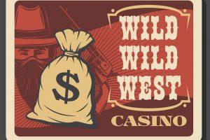 casino, wild west, money