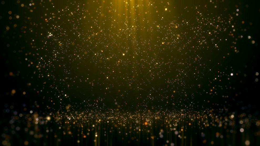 stage, sparkles, award