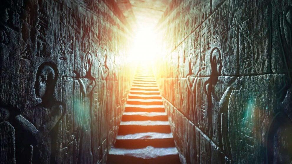 egypt, ancient egypt, tunnel