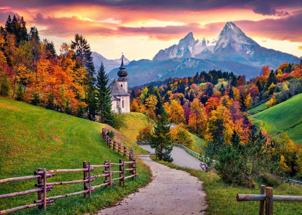 bavaria, mountains, hike