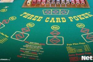 NetBet, Three Card, Tischspiel
