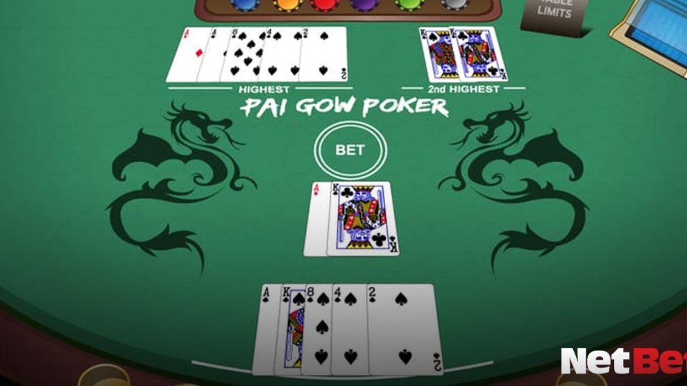 Pai Gow Poker, NetBet, Spiel